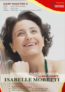 Masterclass with Isabelle Moretti