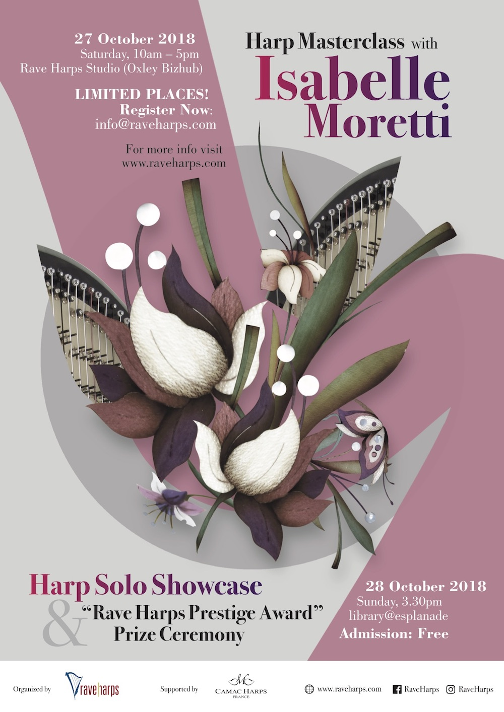 Masterclass with Isabelle Moretti, Singapore